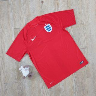 Nike 英國隊2014足球衣 客場 運動 短袖  England away original Football shirt M號