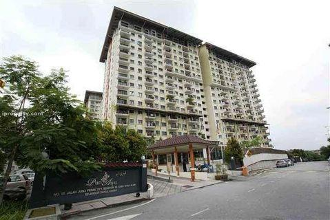 4-room CORNER Penthouse @Puri Aiyu Condo, Shah Alam for ONLY RM426,000 (Market price RM770,000)