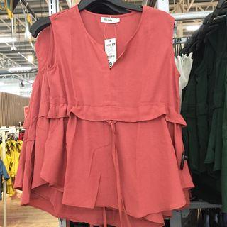 Sleeveless Top with String