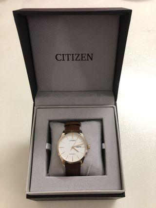 Citizen Automatic Watch (Leather Strap)