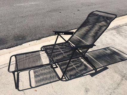 Retro String Chair/ Garden / Patio Chair/Lazy Chair
