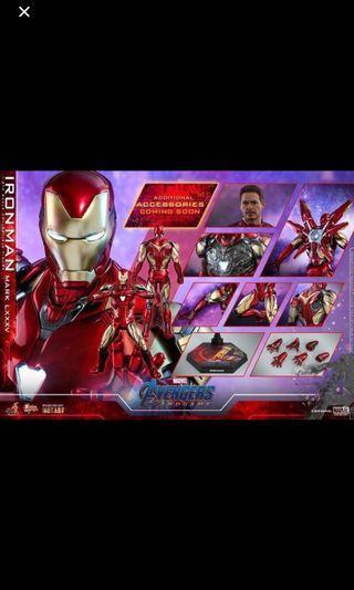 Last 2 slots Hot toys iron man Mark 85