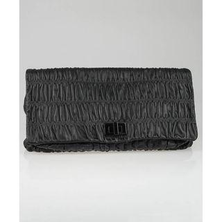 Prada BP0459 - Nappa Gaufre Leather Clutch Bag in Black Colour