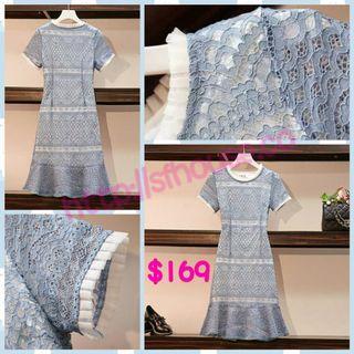 dress 裙 蕾絲裙 連身裙 連衣裙 lace