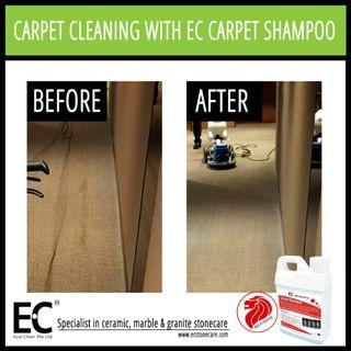 EC Carpet Shampoo for Carpet Cleaning Stain Removal for Home Hotel Offices