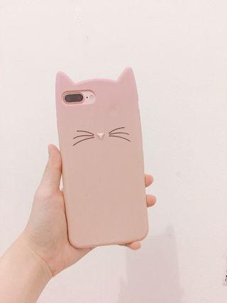 Case iPhone 7 plus cat