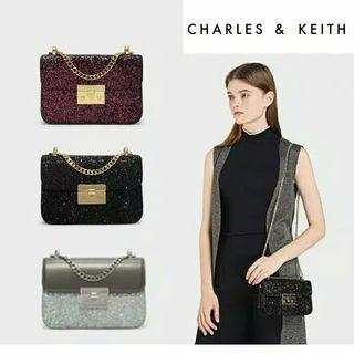 charles and keith glitter original