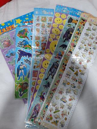 Assorted stickers (Price for all)