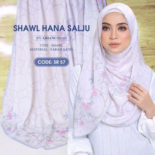 Ariani Hana Salju Shawl (PREORDER)