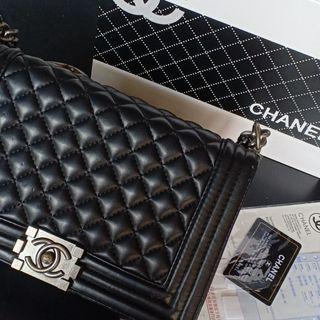 Chanel Leboy in Black Medium (Inspired)