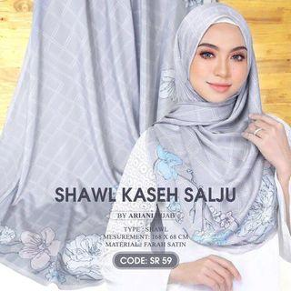 Ariani Kasih Salju Shawl (PREORDER)
