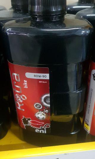 Instock Motorcycle Scooter Gear Oil Eni 80w 90