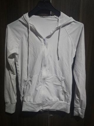 White Dry Fit Jacket