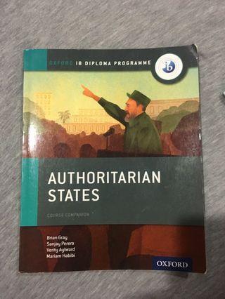 🚚 IB History Authoritarian States Textbook