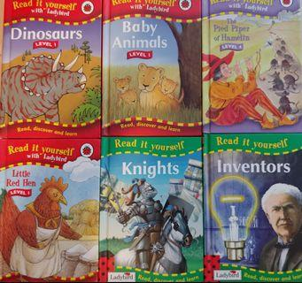 Read it yourself with ladybird 6 books