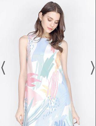 Another One Printed Shift Dress
