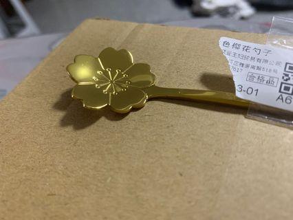 🚚 Sakura Steel Spoon