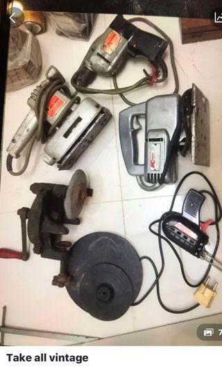Peralatan kerja personnal  real vintage