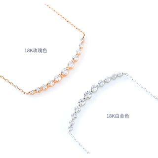 SIS Diamond 鑽石 頸鏈 小清新 笑哈哈系列 首飾