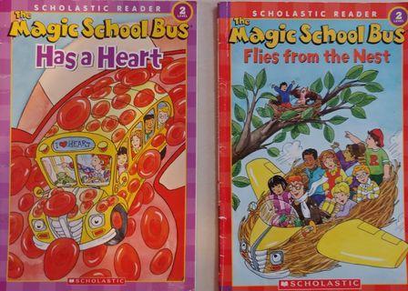 The magic School Bus Scholastic Reader