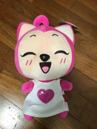 Lovely fox soft toy