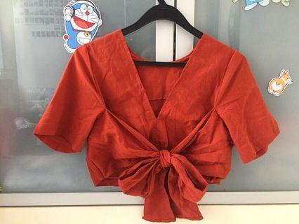 🚚 Kimono Cropped Top