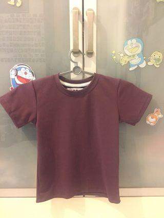 Maroon Cropped Top