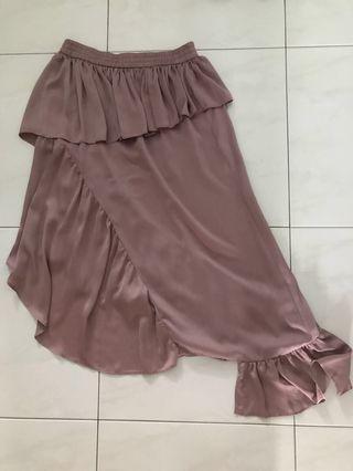 Clearance: Asos deconstructed ruffles skirt