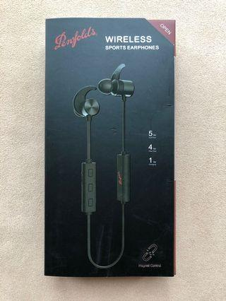 Penfolds wireless sports earphones 藍芽耳機