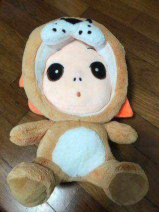 Baby with lion outfit