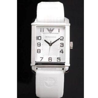 Emporio Armani Classic White Unisex Watch AR0498