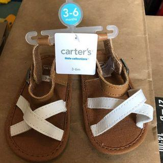 🚚 Baby Girl Sandals- 3-6 Months