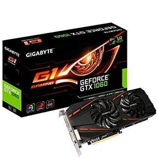 Gigabyte G1 Gaming GTX 1060 6GB OC Edition