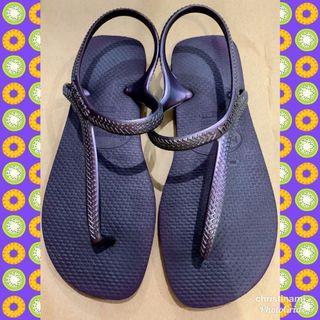 Havaianas Sandal Sendal Sepatu Sendal Tali Ungu Original Preloved