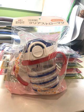 日本制 便攜兒童水杯