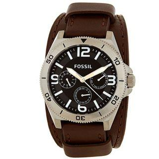 Fossil Men's Murray Chronograph Leather Watch BQ1718