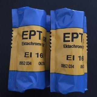 Kodak EPT 120 medium format tungsten color film