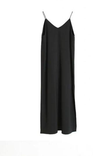 Black Spaghetti Dress, size M