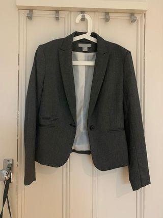 Dark Grey Work Blazer