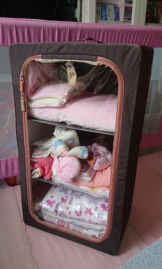 收納 小衣櫃 小鞋櫃 小書櫃 牀頭雜物 布料櫃