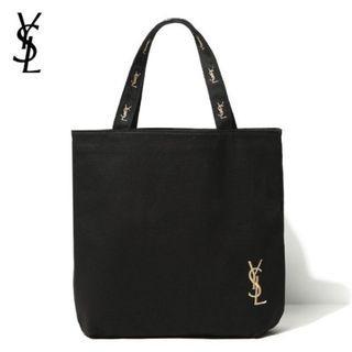 👜限量附錄YSL Yves Saint Laurent🤩🤩Golden embroidery shopping bag Tote bag👜