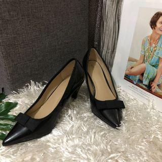 Auth Zara Trafaluc Black Heels