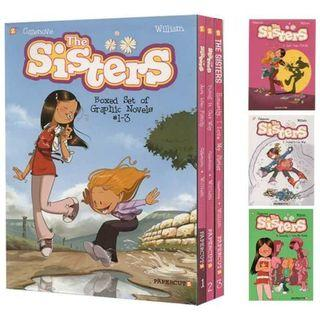 The Sisters Boxed Set: Vol. #1-3 全彩漫畫書