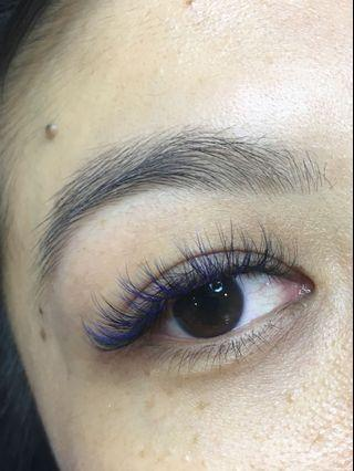 Eyelash Extensions , eyebrows embroidery