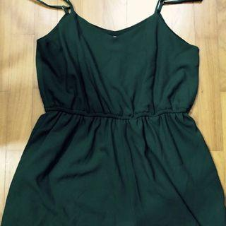BN Forest Green Romper