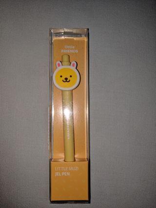 Kakao friends, Little Friends: little muzi gel pen