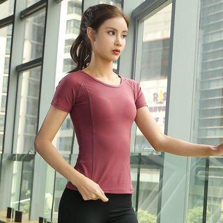 🚚 (免運) 速乾運動短袖上衣 T-Shirt