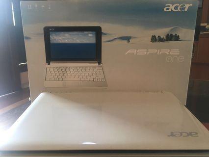 "Acer Aspire One ZG5 type AOA 150 layar 8,9"""