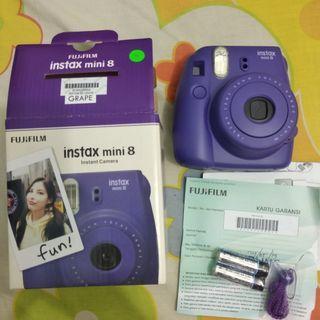Fujifilm Instax Mini 8 grape baru