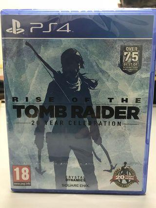PS4 Rise of the Tomb Raider (Eng)